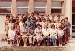 8. třída 1982