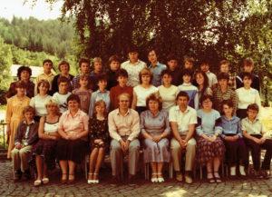 8. třída 1985