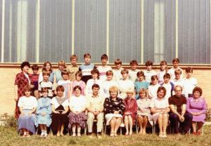 8. třída 1986