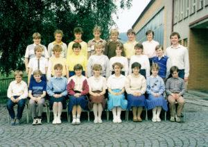 8. třída 1987