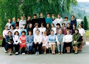 8. třída 1992
