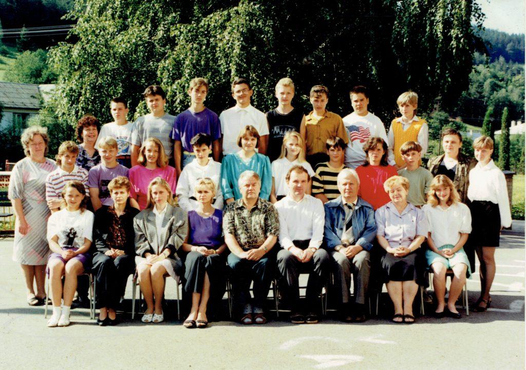 8. třída 1993